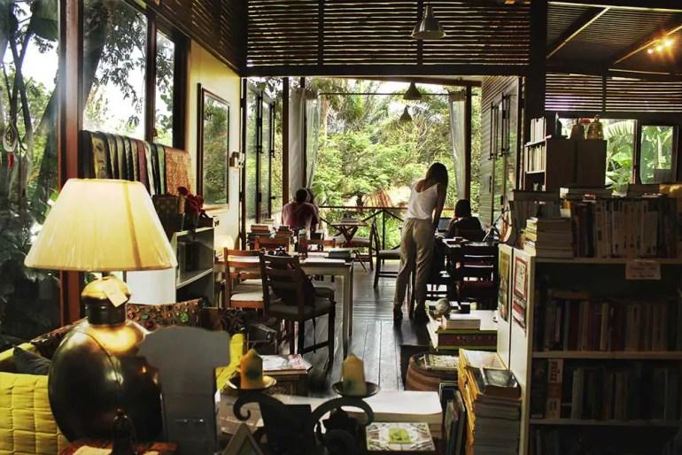 Cafe view - Kardamom & Koffee, a hidden gem in Kampala, Uganda