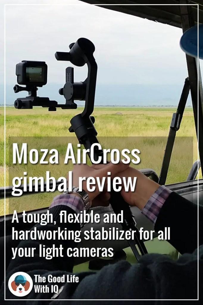 Pinterest thumbnail - Moza AirCross review