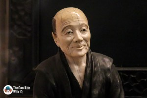 Japanese figurine - Things to do on the weekend in Hyderabad: The chaotic but interesting Salar Jung Museum