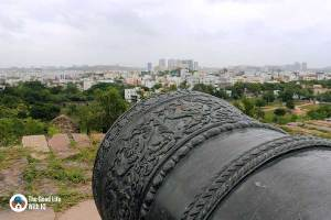 Fateh Rahbar cannon - Things to do on the weekend in Hyderabad: The outer ramparts of Golconda Fort