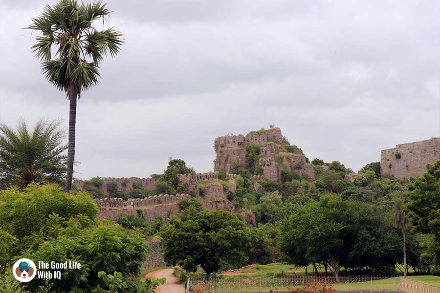 naya qila ramparts - Things to do on the weekend in Hyderabad: The outer ramparts of Golconda Fort