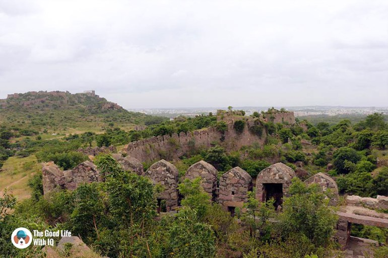 petla burj ramparts - Things to do on the weekend in Hyderabad: The outer ramparts of Golconda Fort