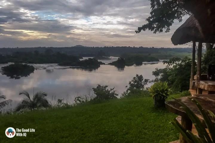 View from Haven, Jinja, Uganda