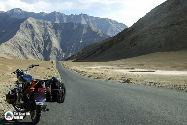 Bike in the mountains - Motorcycle touring tips