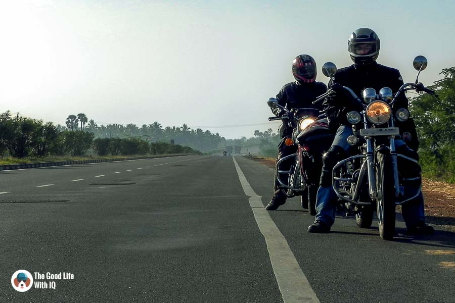 Bikes on the highway - Motorcycle touring tips