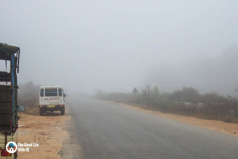 Motorcycle tour tips - Low visibility