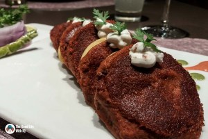Veg galouti kabab - Tatva restaurant review