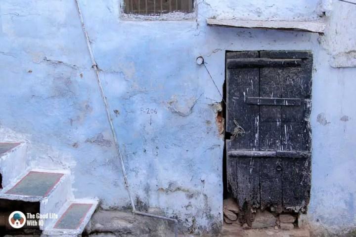 Blue door - Udaipur