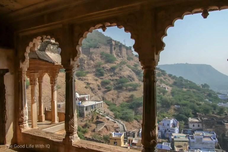 Garh Palace windows, Bundi