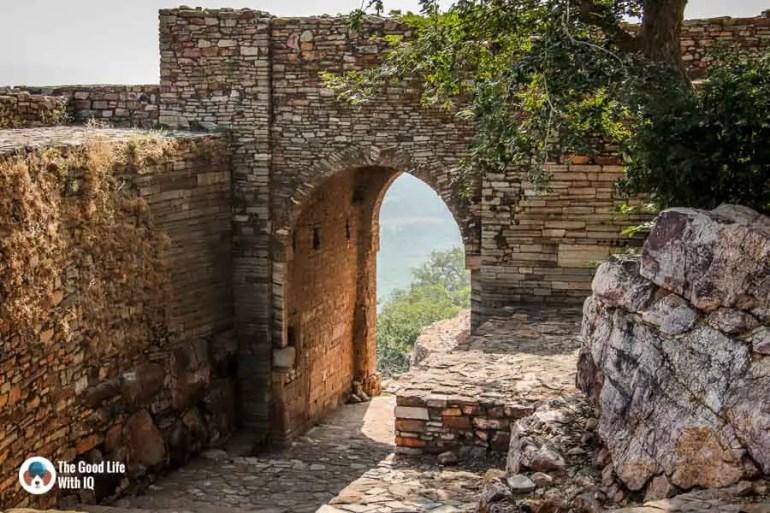 Fort archway - Chittorgarh