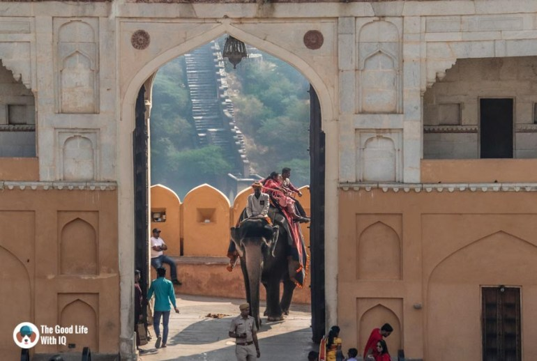Main gate, Amber Palace, Jaipur
