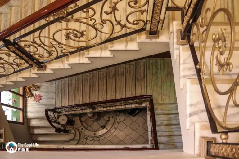 Staircase at All Seasons Homestay, Jaipur