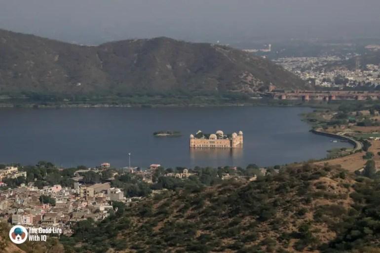 View of Jal Mahal, Nahargarh, Jaipur