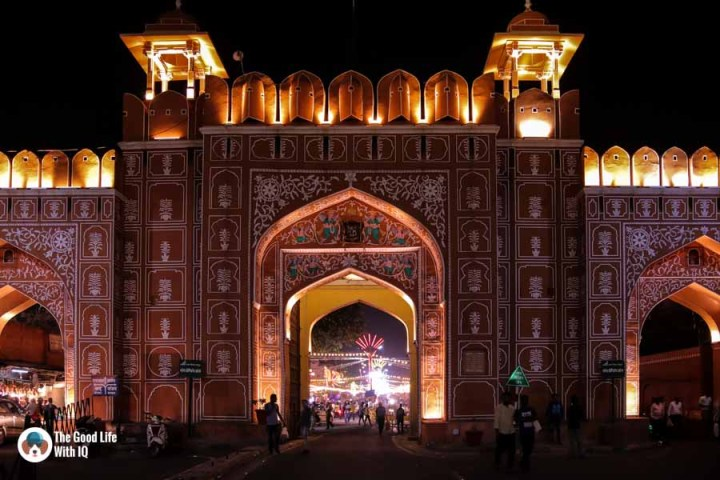 Sanganeri Gate, Old City, Jaipur