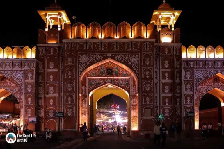 Sanganeri Gate, Old City, Jaipur