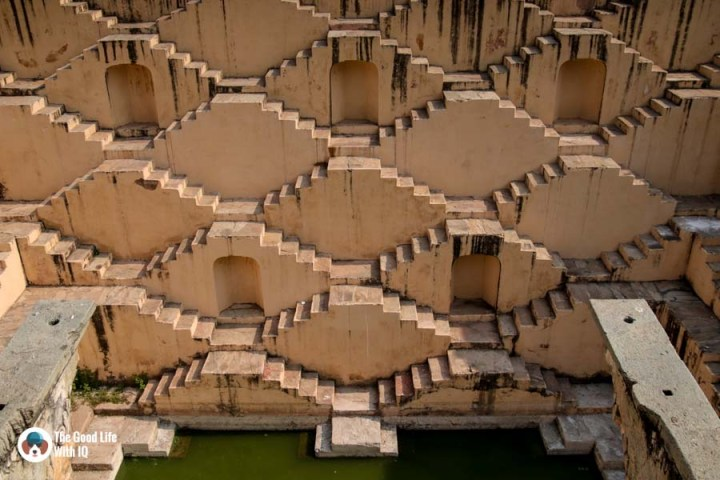 Step well, Amber Palace, Jaipur