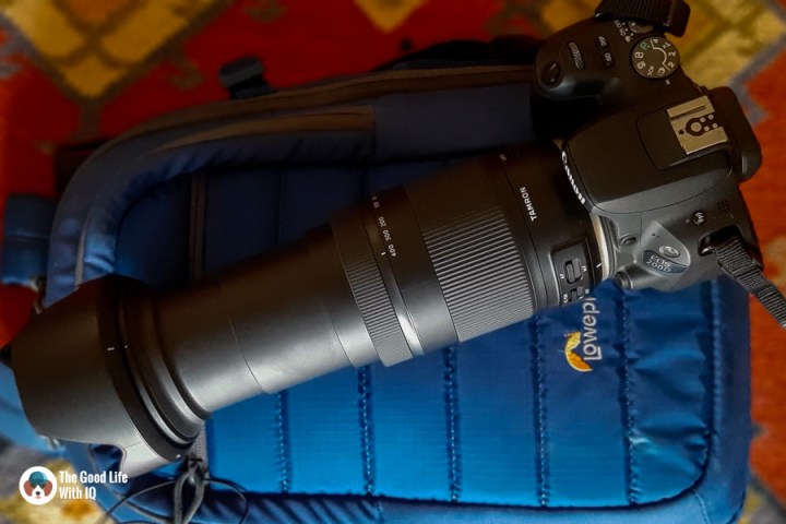 Fully-extended lens - Tamron 18-400 review