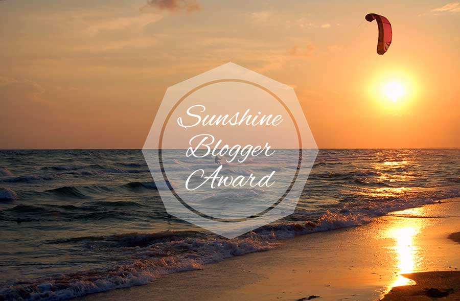 Nominated for the Sunshine Blogger Award!