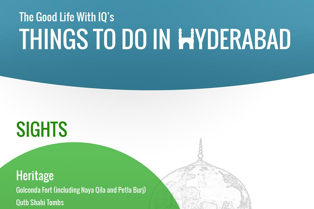 Hyderabad itineraries, and things to do in the city