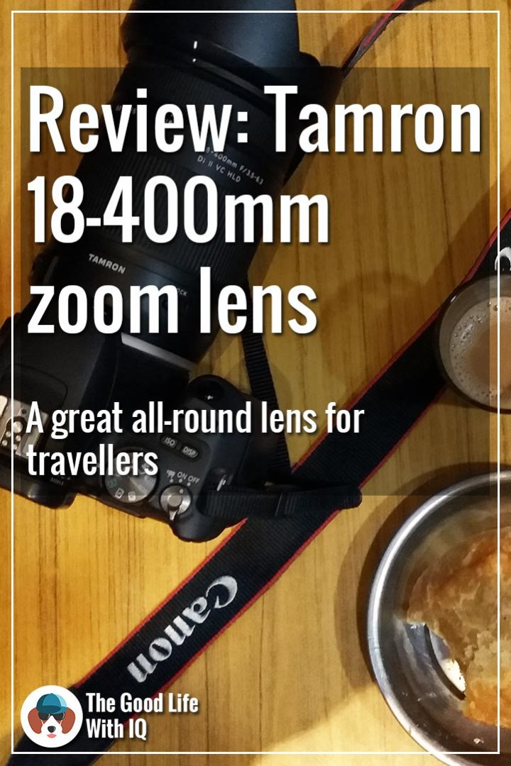 Pinterest thumbnail - Tamron 18-400 review