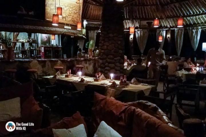 Kenya safari - Amboseli - Restaurant