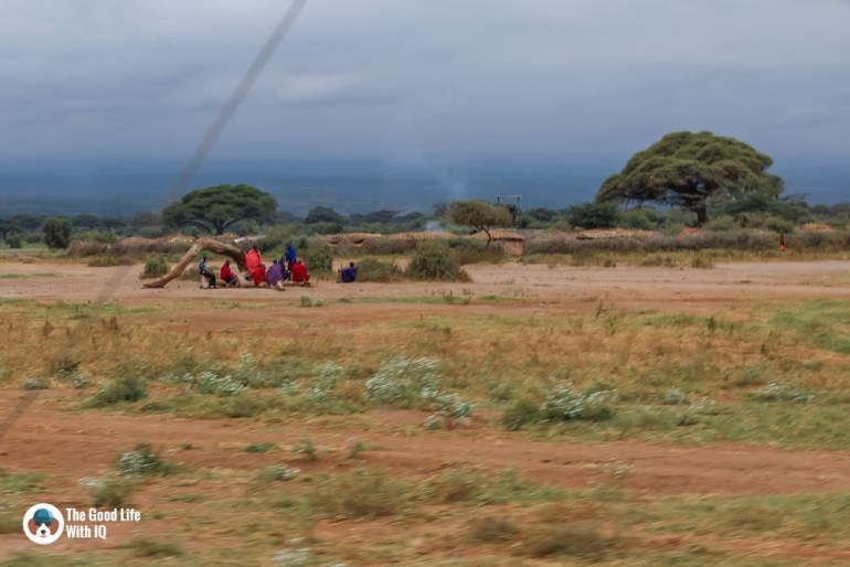 Kenya safari - Amboseli - Masai village