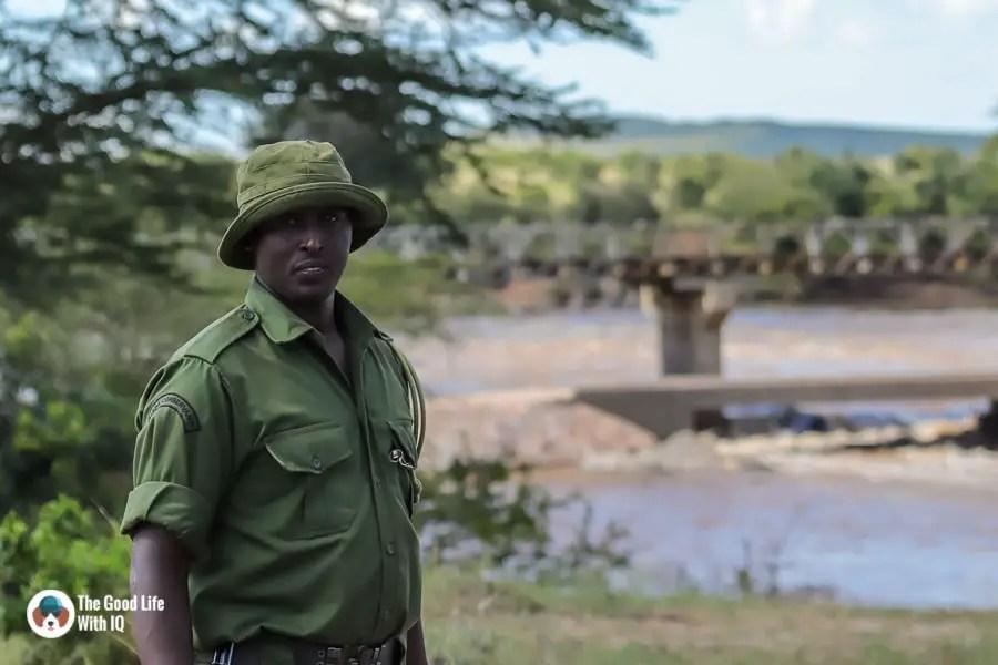Kenya safari - Masai Mara - Ranger