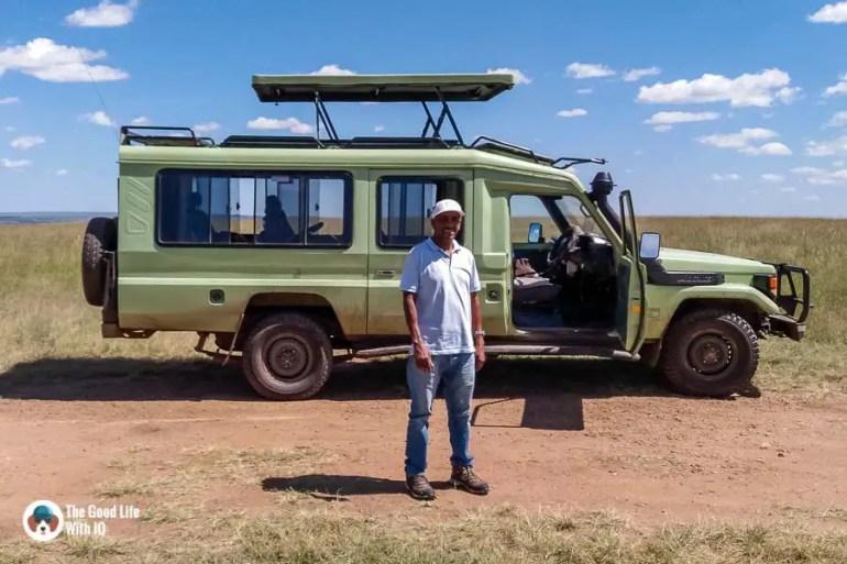 Kenya safari - Masai Mara - Land Cruiser