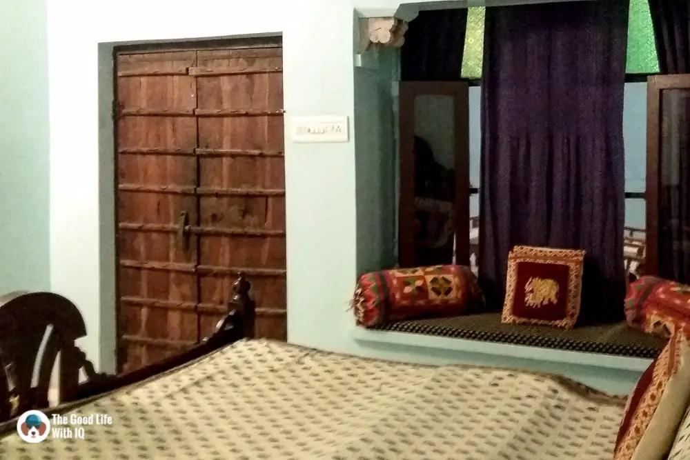 Our room in Bundi Inn, Bundi