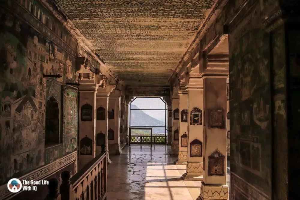 Corridor, Chitrashala, Garh Palace, Bundi