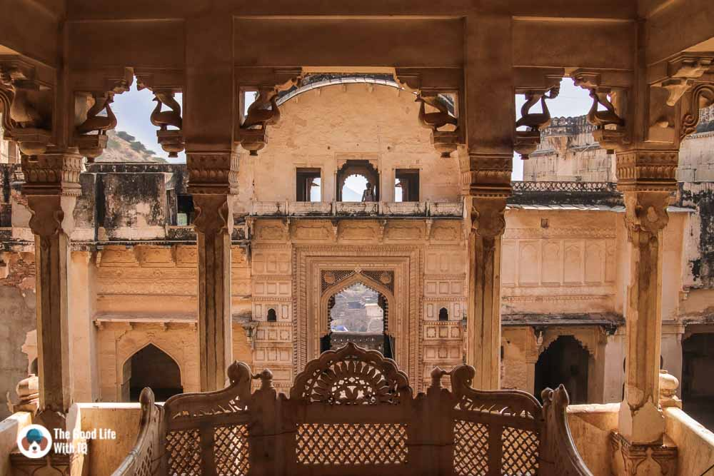 Throne, Garh Palace, Bundi
