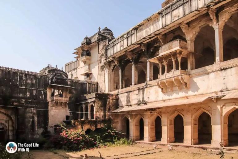 Courtyard, Garh Palace, Bundi
