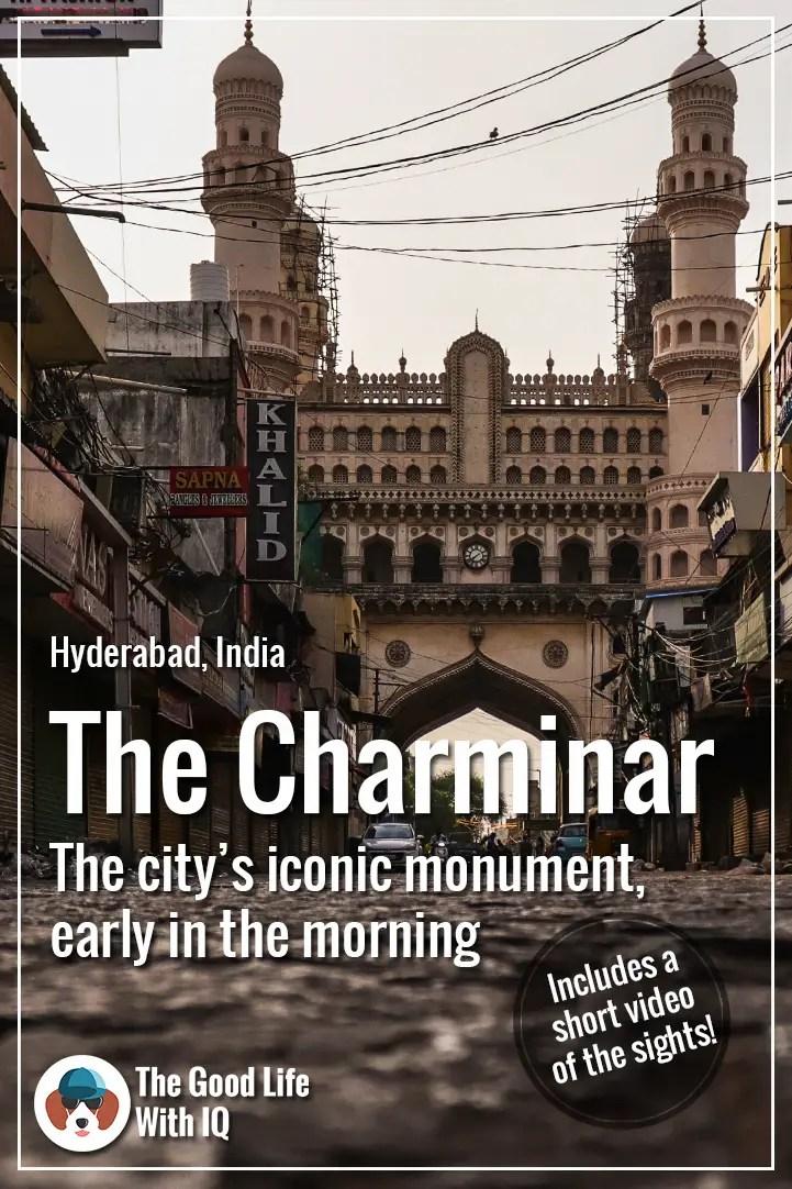 Pinterest thumbnail - Charminar, Hyderabad