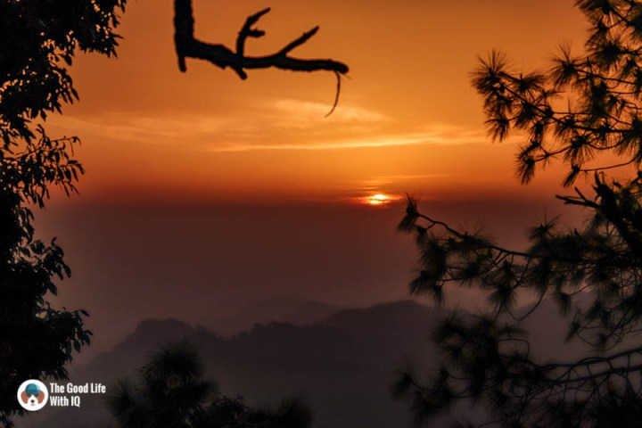 Sunset, Naddi, Dharamshala