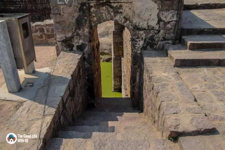 Water tank, Bala Hisar, Golconda Fort
