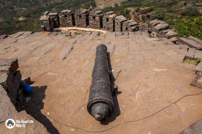 Cannon, Golconda Fort