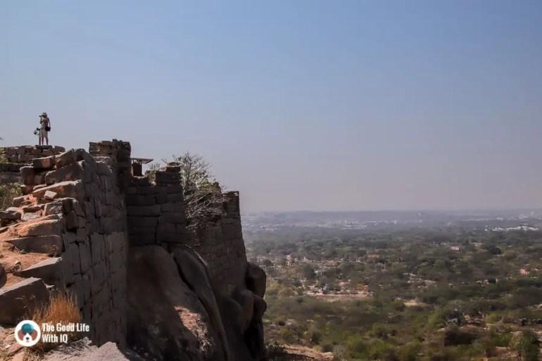 Fort wall, Hyderabad