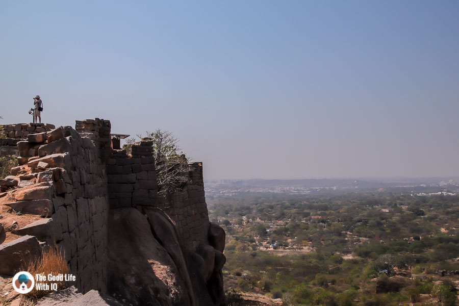 Fort wall, Hyderabad