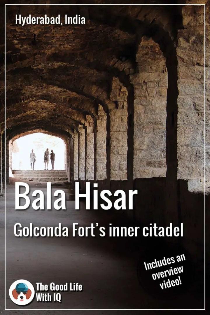Pinterest thumbnail - Secrets of Golconda Fort