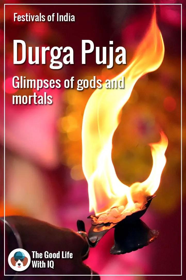 Pinterest thumbnail - Durga Puja