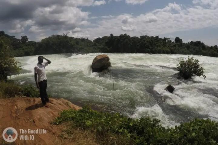 Testing the GoPro HERO 5 Black on the White Nile Rapids, Jinja, Uganda