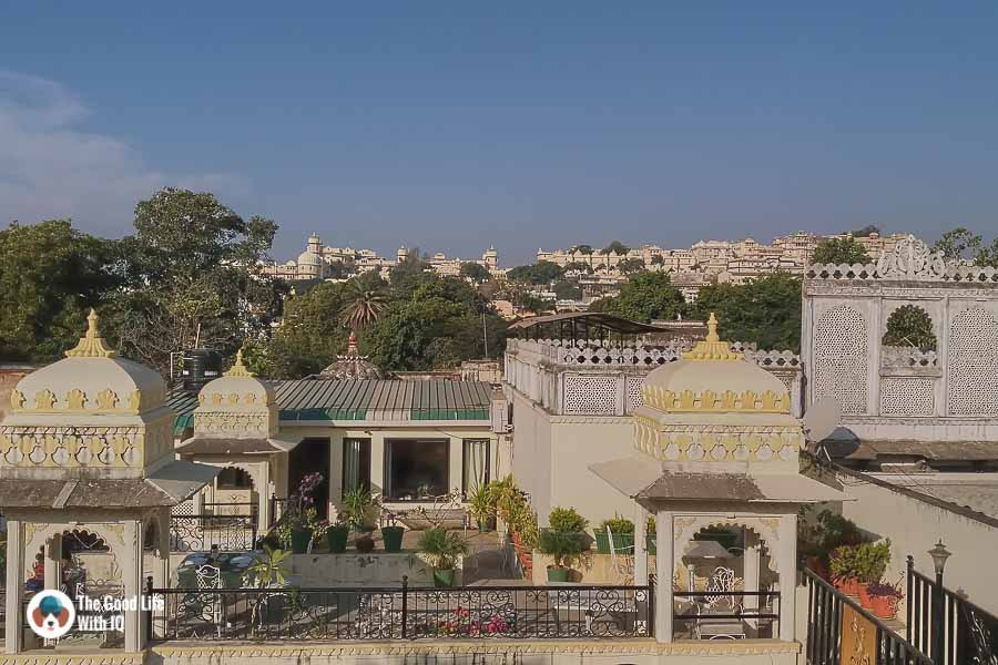 View of city palace, Udaipur