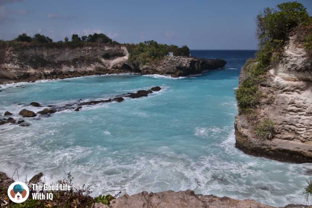 blue lagoon, nusa ceningan, best places to stay in bali