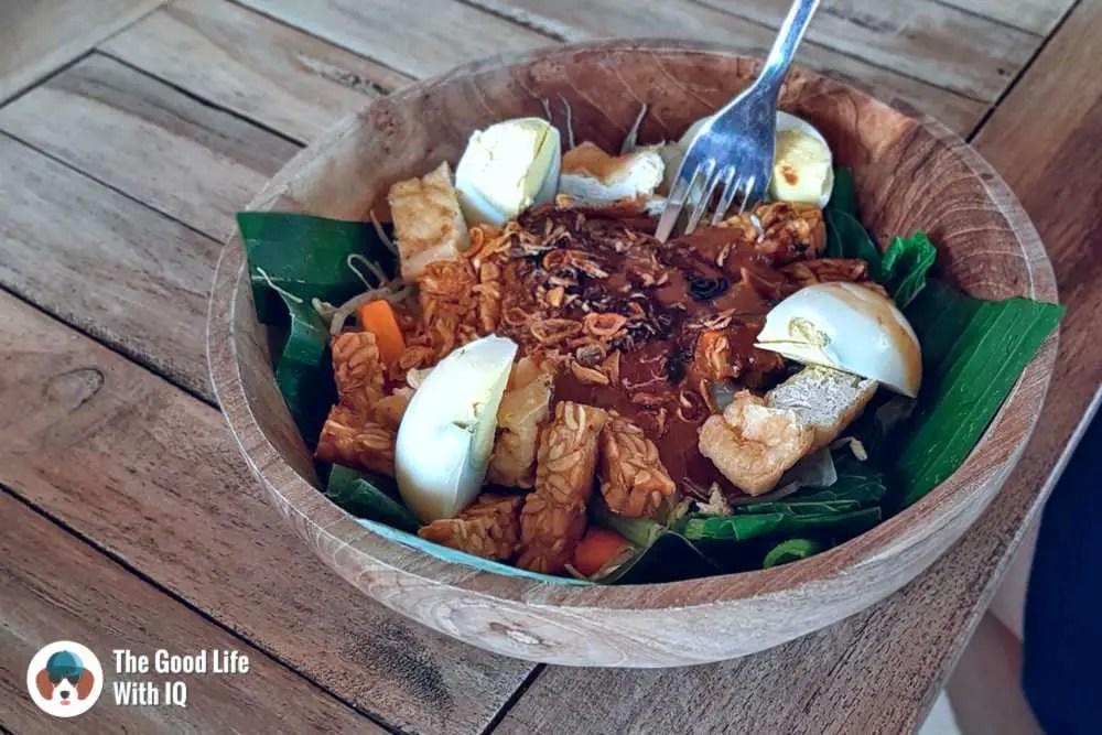 Gado gado, Ceningan, Bali