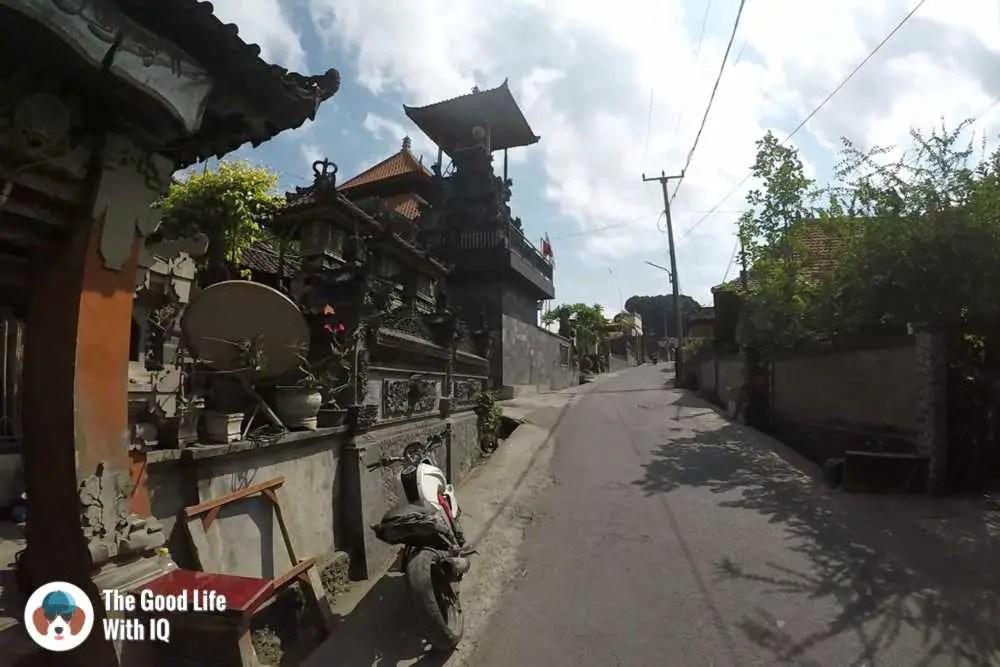 Temples, Nusa Lembongan
