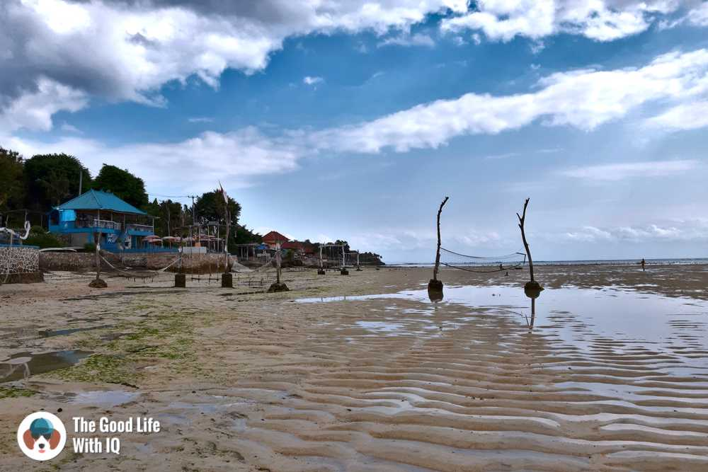 Low tide, Nusa Ceningan