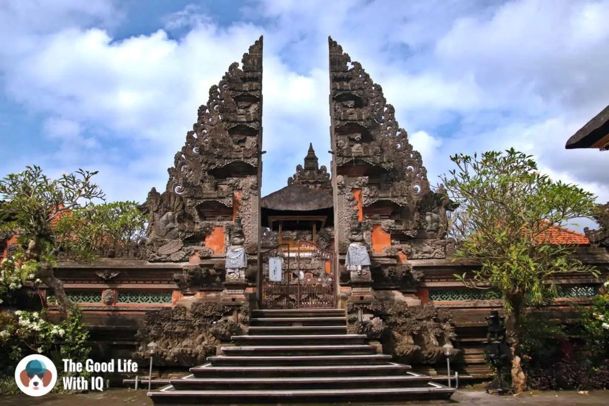 Balinese temple - Ubud