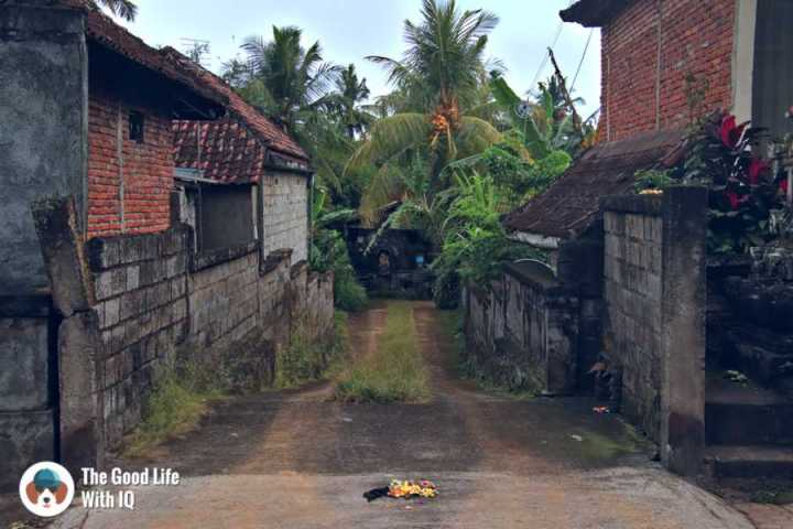 Driveway - Three days in Ubud, Bali