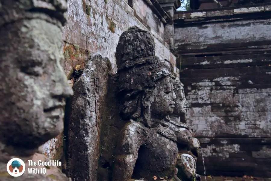 Statues, Goa Gajah, Bali