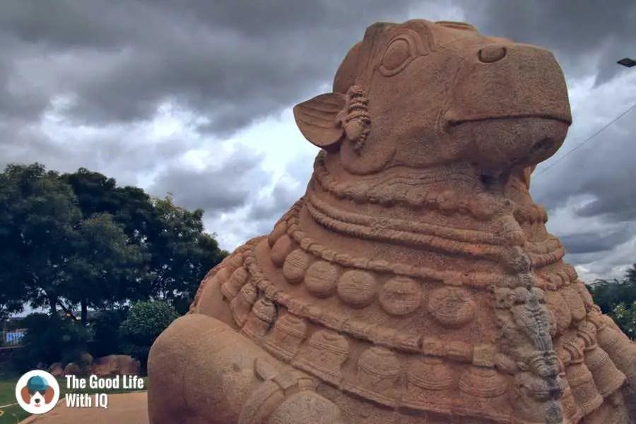 Nandi statue - Day trip to Lepakshi from Bangalore